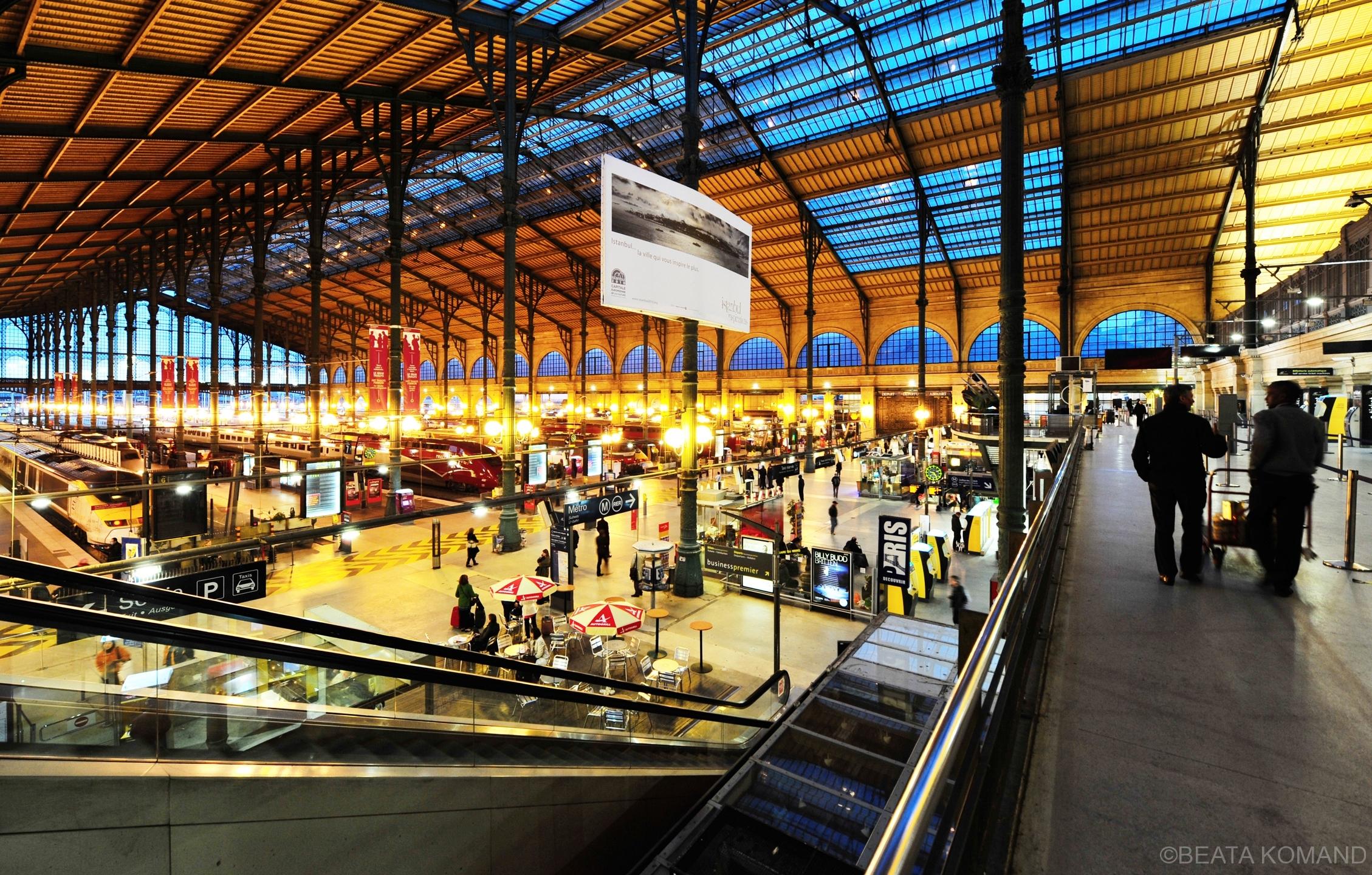 La Gare du Nord le 4 mai 2010