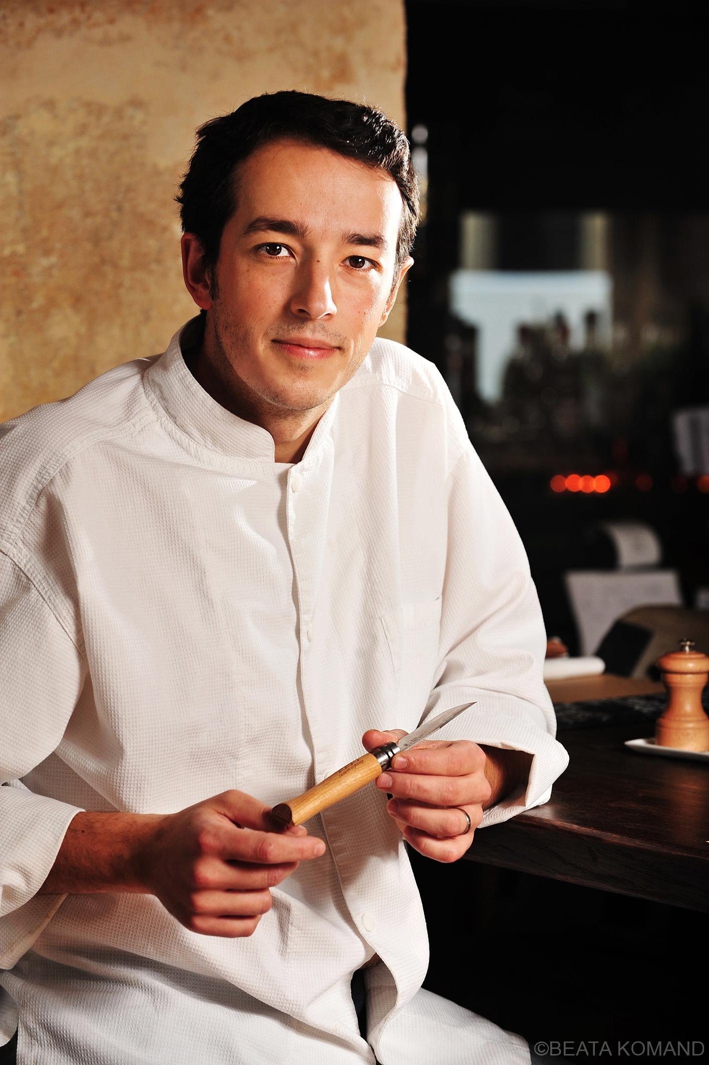 chef de restaurant Itinéraires, Sylvain Sandra