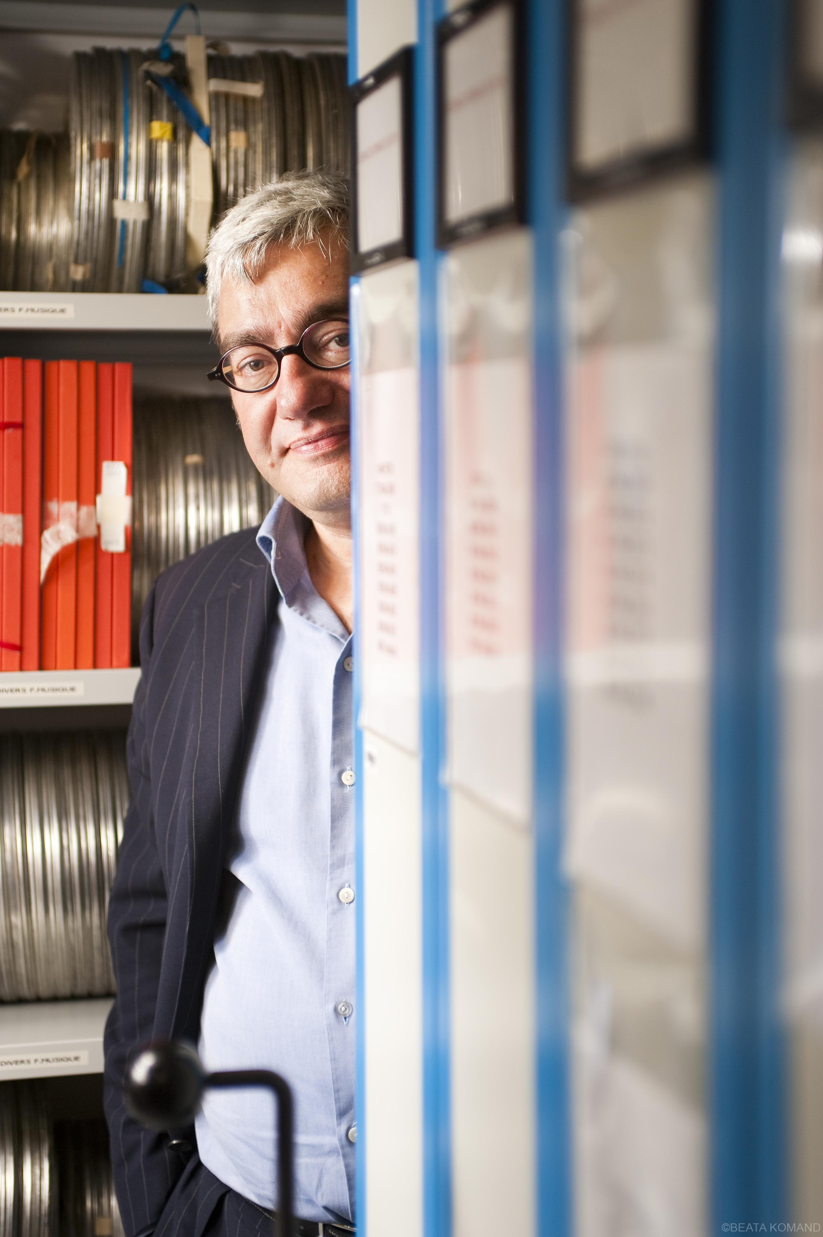 Emmanuel Hogg, directeur de l'INA